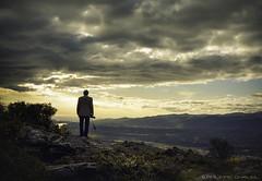 Sunrise sur la valle du Conflent  (Pyrnes Orientales) (MagiCshoot) Tags: panorama cloud sunrise nuage paysage vue landsape valle pyrnesorientales yugolls