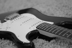 MY GUITAR .. (' NAJJAR) Tags: music electric canon eos 50mm guitar amman potd jordan fender kuwait f18 strat stratocaster eos60