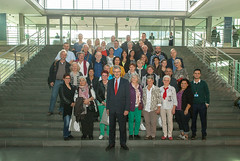 "Besuchergruppe im Paul-Löbe-Haus am 30. September 2015 • <a style=""font-size:0.8em;"" href=""http://www.flickr.com/photos/38352417@N02/21778967868/"" target=""_blank"">View on Flickr</a>"