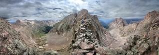 Mount Eolus Catwalk - Chicago Basin - Colorado