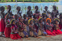 Sing-sing Dancers, Kitava Island, Papua New Guinea (bfryxell) Tags: dancer papuanewguinea singsing oceania melanesia kitavaisland trobriandislands