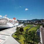 観光船埠頭の写真
