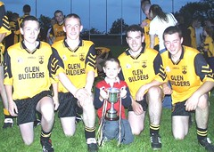 Chrissy, Noel, Cormac, Eoin and Niall