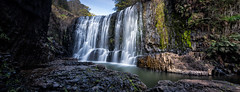 Guide Falls Pano (RoosterMan64) Tags: panorama canon waterfall panoramic tasmania burnie guidefalls