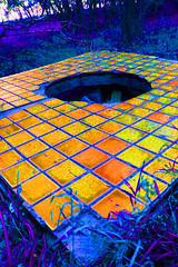 Alice's Wonderland (huntraalexa) Tags: tile colorful different hole trippy alicewonderland