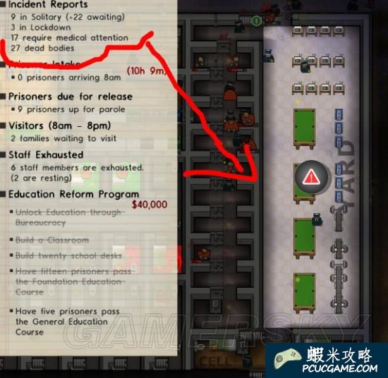 監獄建築師 幫派地盤 佔領監獄 圖文攻略