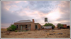 Abandoned Farmhouse (tim_kavanagh) Tags: outback southaustralia hdr goldenhour stonecottage terowie