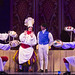 Jeff Skowron as Chef Louis, Eric Kunze as Prince Eric and the cast of Disney's The Little Mermaid presented by Broadway Sacramento at the Community Center Theater Feb. 2-7, 2016. Photo by Bruce Bennett, courtesy of Theatre Under The Stars.