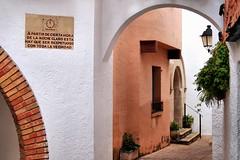 Roc de Sant Gaiet (Jorge Franganillo) Tags: street espaa calle spain alley mediterranean village pueblo silence catalunya carrer catalua tarragona silencio mediterrneo callejn silenci carrer costadaurada rocdesantgaiet rodadeber