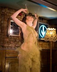 Week 48 - Glitter (philipJvernon (www.philipJvernon.co.uk)) Tags: show england cute sexy glitter lights dance shiny pretty dancing boobs unitedkingdom leicester performance bum sparkle strip gb perform burlesque