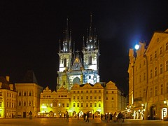 DSCF3376 (Connors2007) Tags: night prague oldtown tynchurch churchofourladybeforetn