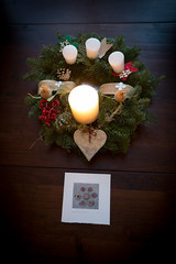 Advent 2015, Week 1, Day 2 (Fe 108Aums) Tags: home advent adventwreath pause 2015 sevensacredpauses seasonaltime
