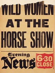 Suffrage in the press: Wild Women at the Horse Show1910-1913