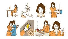 Galileu - Linguagem corporal (Rodrigo Damati) Tags: ilustrao trabalho corpo corporal vetor ilustra linguagem dicas