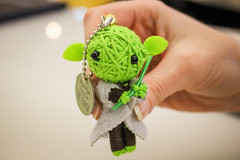 Hong Kong-7991 (melodi2) Tags: green toy starwars keychain doll yoda charm mascot string voodoo theforce luckycharm