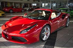 488 GTB (Hunter J. G. Frim Photography) Tags: new italian colorado ferrari turbo rosso supercar v8 gtb corsa 2016 488 rossocorsa ferrari488 ferraru488gtb