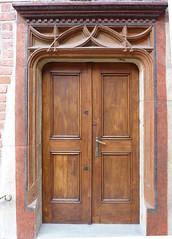 Krakov, univerzita (49) (ladabar) Tags: doorway portal kraków cracow cracovia krakau krakov dveře portál