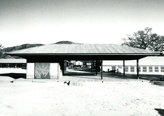 Fujica ST Paramount Ranch 1 () Tags: bw white black slr classic film japan set 35mm vintage golden town tv angle wide retro age hollywood western filming fujica st705