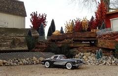 1958 Chevrolet Corvette Roadster (JCarnutz) Tags: chevrolet 1958 corvette diecast 124scale danburymint