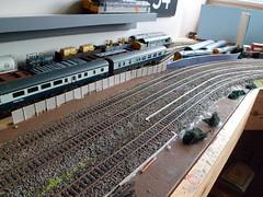 Corner area (bescotbeast) Tags: layout trains hobby bachmann hornby modelrailway 00gauge pendefordsidings