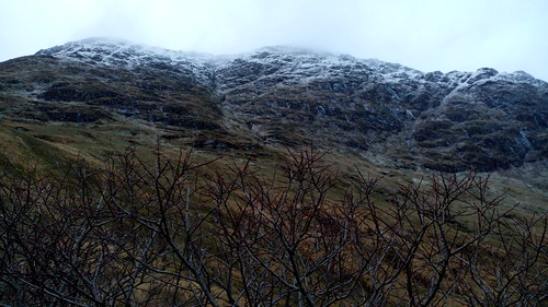 Promenade dans les montagnes écossaises