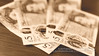 New Five Pound Notes on a wooden table E Sepia Tone (Jacek Wojnarowski Photography) Tags: bank bankofengland banknote blurbackground currency depthoffield gbp greatbritainpound money note pound poundsterling sepia sepiatone shallowdepthoffield table woodentable sepiaphoto