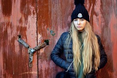 Release The Pressure (plot19) Tags: liv light love olivia fashion fasion family girl kid daughter teenager face cool release pressure manchester model urban nikon north northwest northern now plot19 photography portrait pose people hat moncler