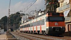 447 a Barcelona (Ja. Martín) Tags: 447101 renfe rodalies barcelona train trainspotting trainspotter 447 caf montgat montgatnord
