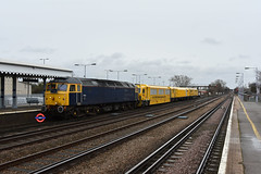 6V73 47812 + MMT DR97802 + 806 + 802 Paddock Wood Keylands - West Ealing Works (Adam McMillan Railway Photography) Tags: mmt class 47 railway spoon paddockwoodrailwaystationpdw loco hauled group otp