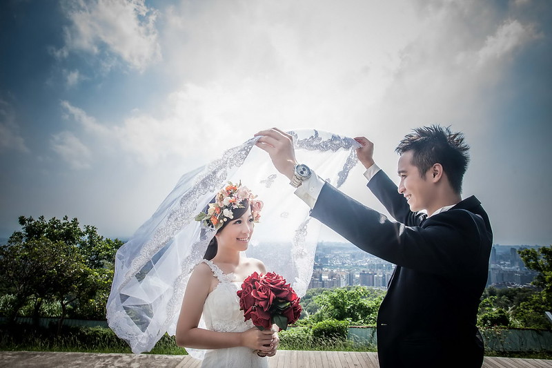新人婚紗,月牙灣,婚紗攝影
