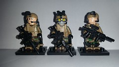 US Marines Force Recon (影Shadow98) Tags: lego special forces minifigcat tinytactical brickarms us marines force recon