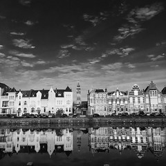 Middelburg (Omroep Zeeland) Tags: middelburg langejan zwartwitfoto