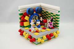 Disney Vignettes (thebrickguru) Tags: lego disney moc cmf collectableminifigures peterpan theincredibles mickeymouseclubhouse aladdin