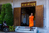 2016_04-Bangkok-L00301 (trailbeyond) Tags: architecture asia bangkok building location monk orange religiousbuilding temple thailand thegoldenmount watsaket