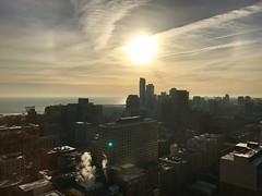 2016 12 28 sundog (sjj62) Tags: sundog cityscape chicago chicagoil sky clouds