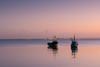 Pastel Sunset on a Receding Tide (ho_hokus) Tags: 2017 england essex essexcoast fujix20 fujifilmx20 leighonsea river riverthames thamesestuary uk boats sunset boat water pastel coast lowtide