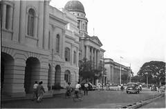Singapore . Connaught Road. 1955 (stuartjames5) Tags: 1955 singapore oldsupremecourt connaught rd old nationalgalleryofsingapore
