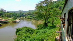 "Thailand - ""The River Kwai Bridge"" - Provinz Kanchanaburi (manufaktur r//j photographie) Tags: riverkwai river kwai brückethailand asien abenteuer urlaub reisen landschaft natur bridge thailand asia adventure vacations travel landscape nature eisenbahn railway"