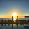 Sunset on Lido Beach (soniaadammurray - Off) Tags: iphone sunset sky sea reflections sunshades chairs pool lidobeach sarasota florida usa quartasunset