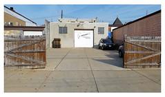 Pittsburgh (real00) Tags: pittsburgh urban landscape urbanlandscape fence garage northside concrete