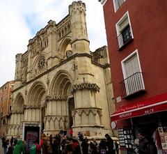 Fachada de la  catedral de Santa María y San Julián de Cuenca. (lameato feliz) Tags: cuenca catedraldecuenca monumento patrimoniodelahumanidad