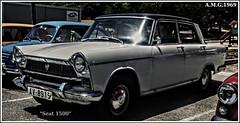 # S.E.A.T. 1500 (1963 - 1972)... (A.M.G.1969) Tags: amg amg1969 seat car clasicos coches 1500 exposiciones expos 4ruedas