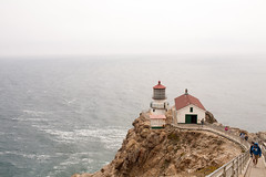Point Reyes Lighthouse (cito17) Tags: lighthouse california pointreyes park coast ocean cliff sea foggy canon canoneos5d canon35mmf14l