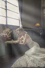 BRIDAL (Chris Photography(王權)(FB:王權)) Tags: 1dx 2470lii wedding weddingdress bridal beautiful girl taiwan taiwangirl tainan 王權 婚紗 婚紗寫真