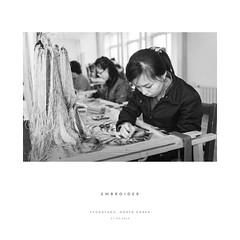 Embroider (reubenteo) Tags: northkorea korea asia kimjongil kimjongun kimilsung communism socialism socialist communist revolution life dprk travel streetphotography guard military