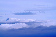 Floating on the Sea of Clouds (GEORGE TSIMTSIMIS) Tags: mountain parnassos winter snow clouds hight peaks peakline pentaxk1 fullframe ricohimaging europe