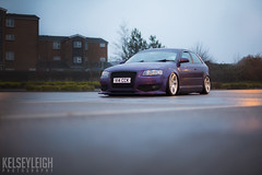 Vicky's Audi (KelseyLeigh10) Tags: audi purple airside bagged modified wrapped 3sdm alloys girl driven female car enthusiast automotive photography photographer kelsey leigh 5d mark iii