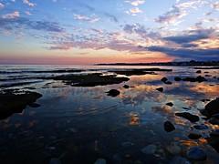 Reflejo en la orilla (Antonio Chacon) Tags: andalucia atardecer marbella málaga mar mediterráneo costadelsol españa spain sunset