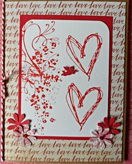 Tiny Cupid Valentine Card (janettefuller) Tags: handmadegreetingcard handmade hearts timholtz heartfelt timholtzclingstamp cupid valentine valentines card stamped cardmaking papercrafts art crafts