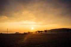 Promising beginning (Petr Horak) Tags: x100 spring color sunday dawn fuji sunrise normallens hill rural landscape novávespodpleší středočeskýkraj czechia cze
